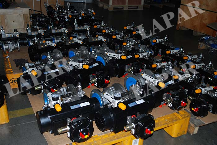 LPA11 Flanged Ball Valve