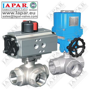 LPA14 Thread Three-way Ball Valve
