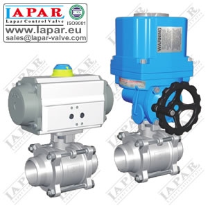 LPA15 Welded Ball Valve