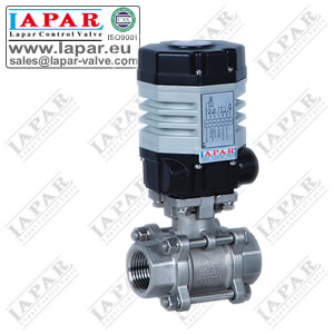 LPAJ12 Mini Electric Metal Ball Valve