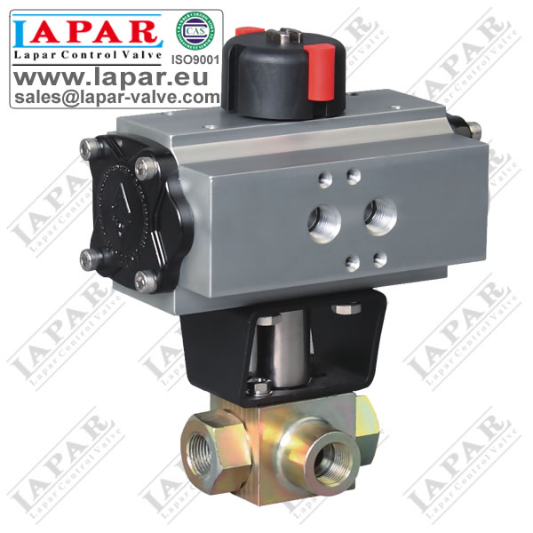 LPK14 High Pressure 3 way Ball Valve