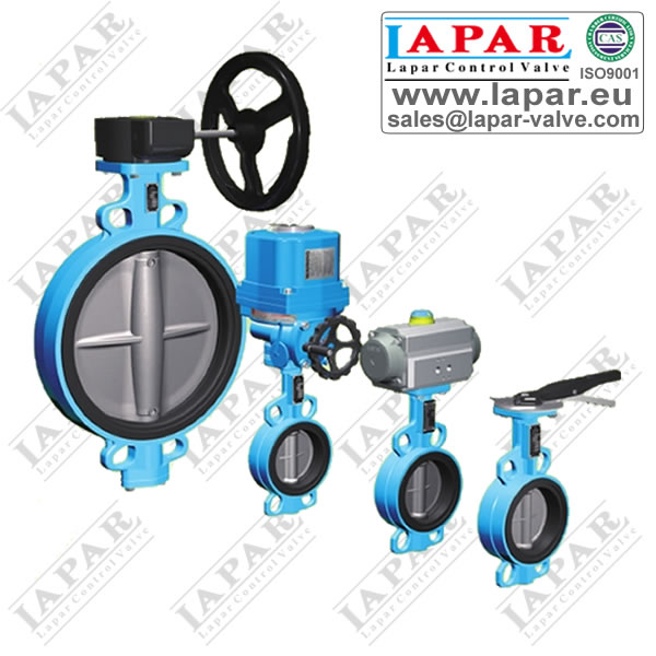 LPB11 Rubber Seat Butterfly Valve