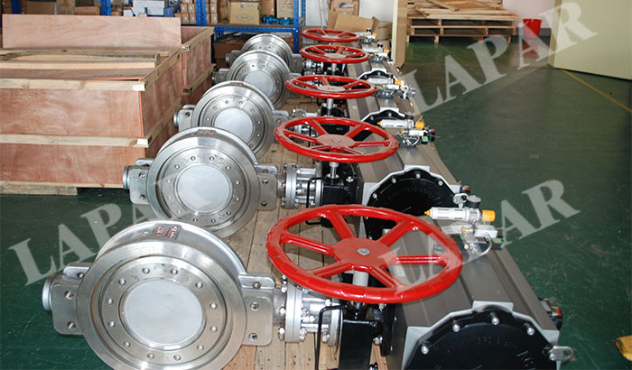 LPB12 Metal Sealing Butterfly Valve