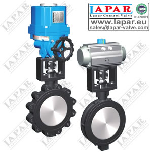 LPB13 High Performance Double Eccentric Butterfly Valve