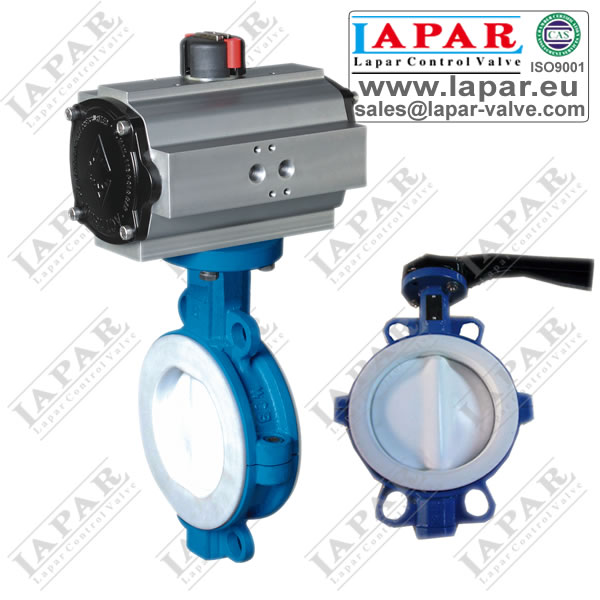 LPB15 Fluorine Lined Butterfly Valve