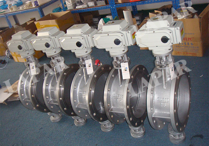 LPB17 Electric Actuated Actuated Damper, Electric Aeration Butterfly Valve