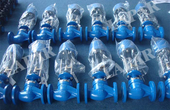 LPG11 Electric Single Seat Control Valve