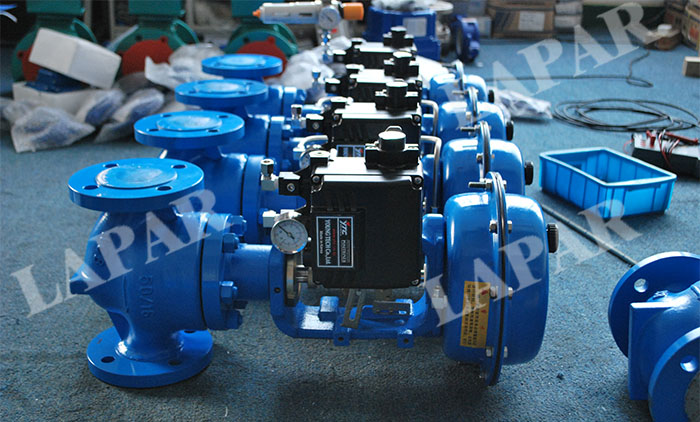 LPH11 Pneumatic Diaphragm / Piston Single Seat Control Valve