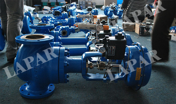 LPH13 Pneumatic Cage Guided Control Valve