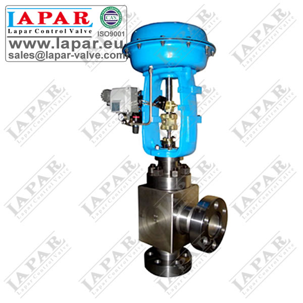 LPH33 Angle Type High Pressure Cage Guided Control Valve