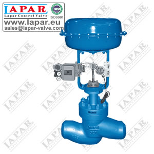 LPH21 High Pressure Single Seat Control Valve