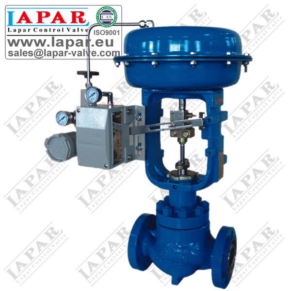 LPH25 High-pressure Low-noise Cage Guided Control Valve