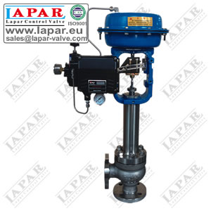 LPH31 Angle Type High-pressure Single-seat Control Valve