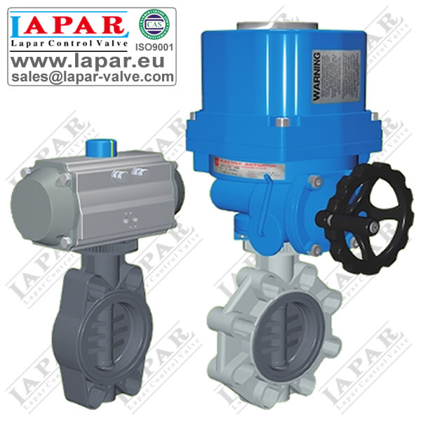 LPD12 Plastic Butterfly Valve