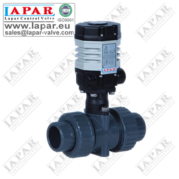 LPDJ11 Mini Electric Plastic Ball Valve